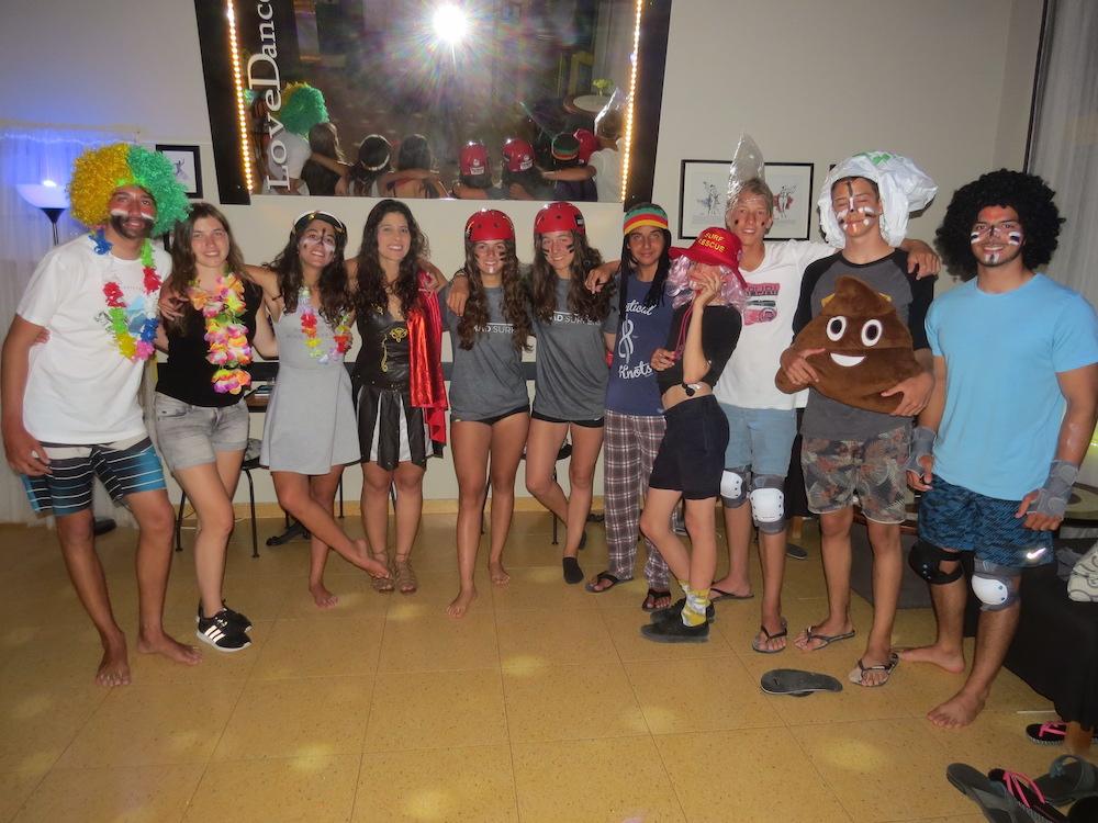 Surf School Teens Camp Lisbon costume party