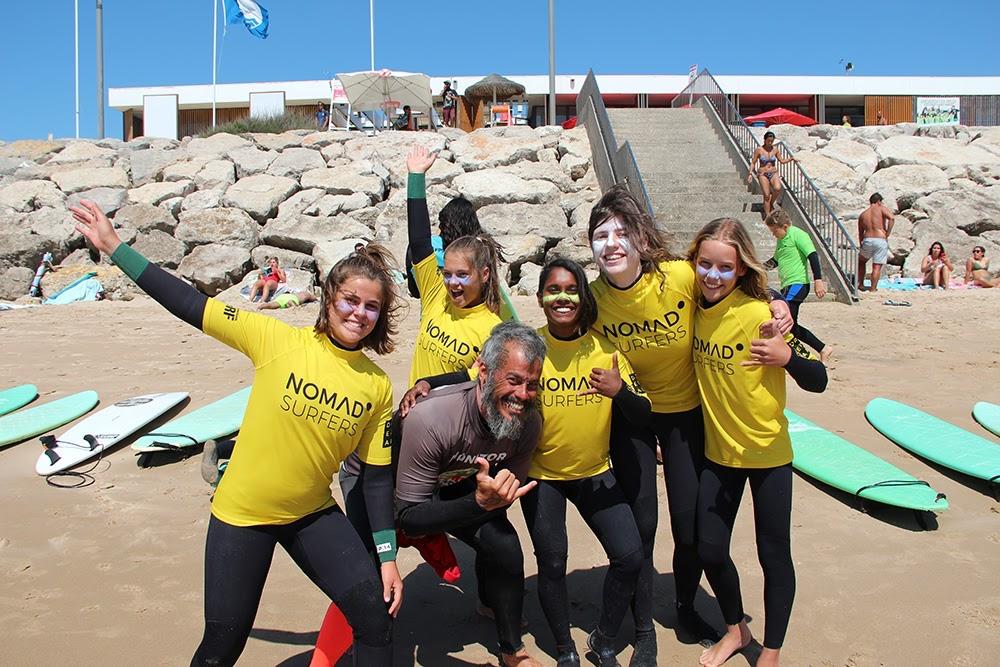 Surf School Teens Camp Lisbon Surf Team
