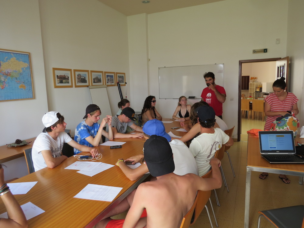 Surf School Teens Camp Lisbon theory Apnea workshop