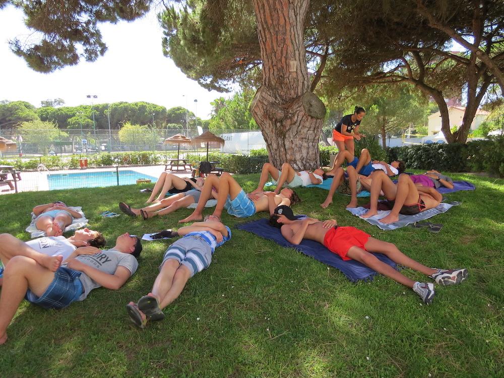 Surf School Teens Camp Lisbon Apnea workshop