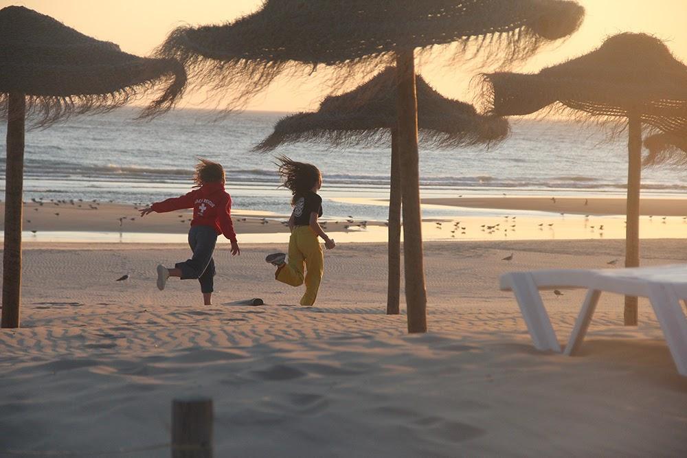 Surf School Teens Camp Lisbon Sunset run