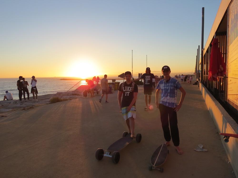 Surf School Teens Camp Lisbon Pizza Night