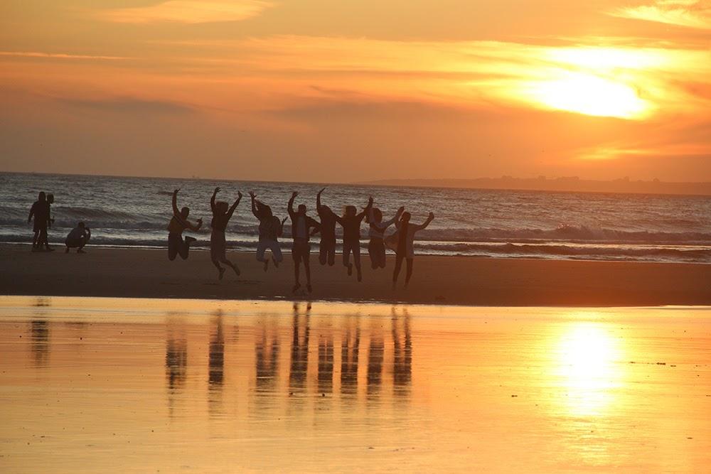 Surf School Teens Camp Lisbon Sunset Walk