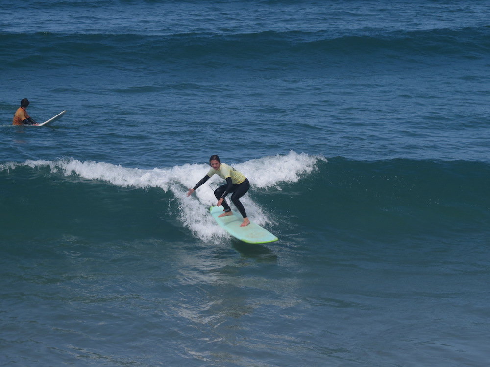 Surf School Teens Camp Lisbon Intermediate Lesson
