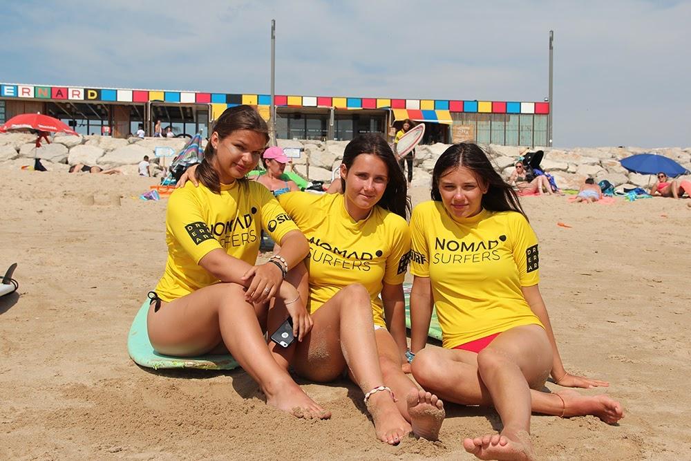 Surf School Teens Camp Lisbon beach break time