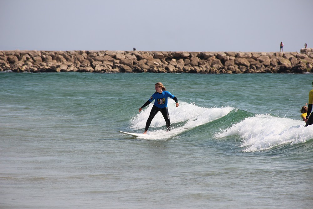 Surf School Teens Camp Lisbon surf lesson