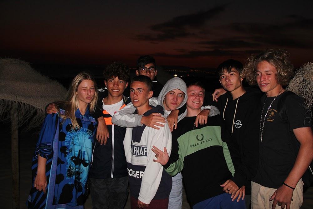 Surf School Teens Camp Lisbon Last Night