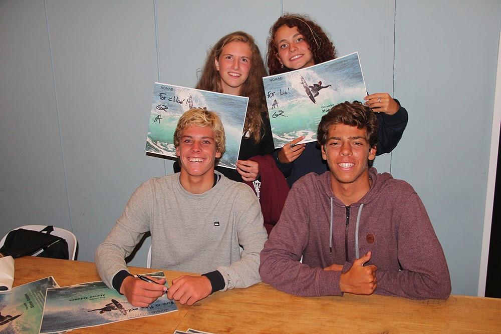 Surf School Teens Camp Lisbon autograph night
