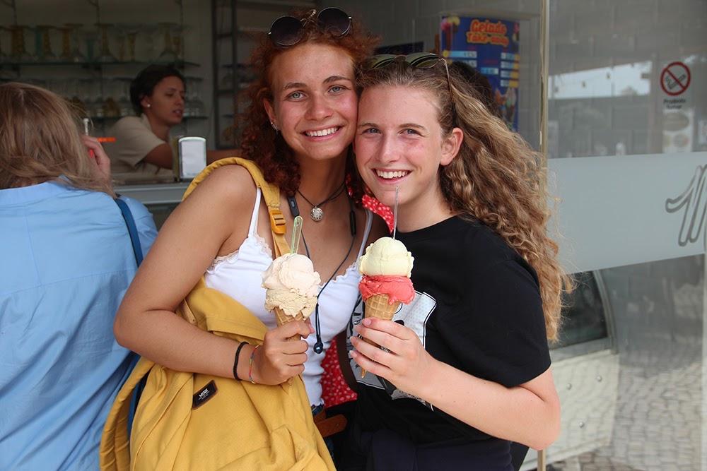 Surf School Teens Camp Lisbon Ice Cream break
