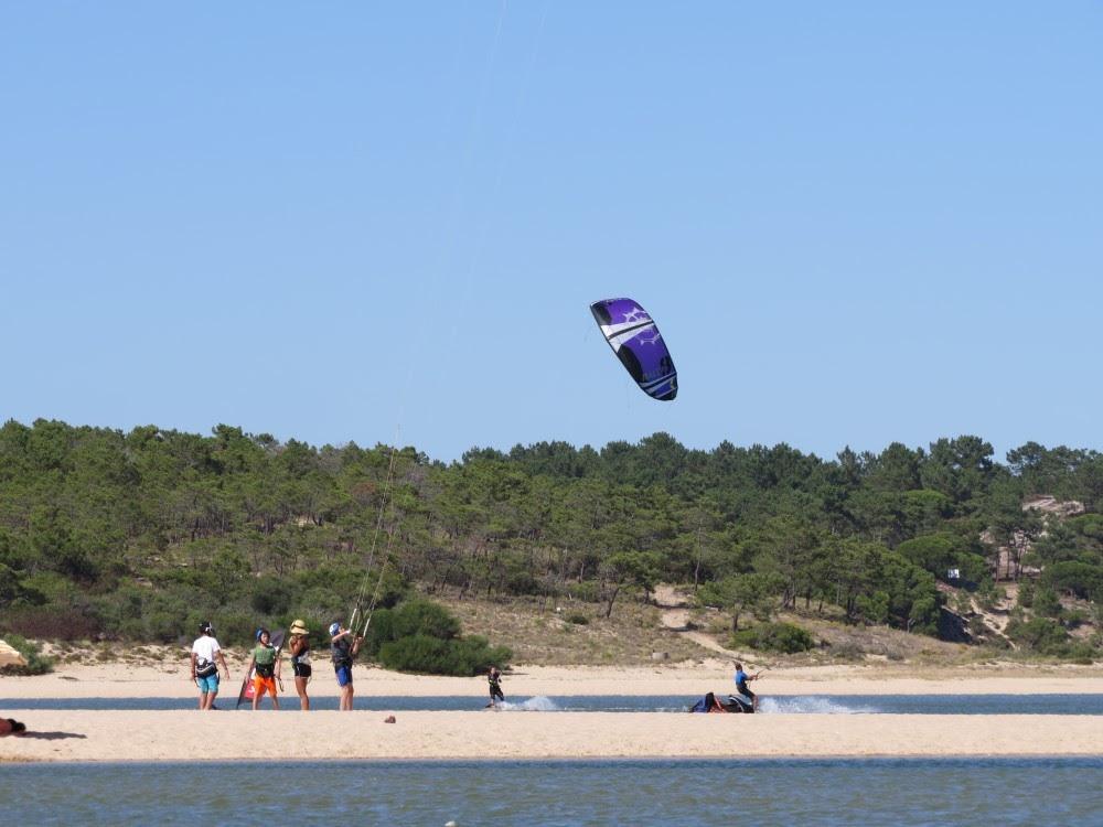 Surf School Teens Camp Lisbon Kite Surf Lesson