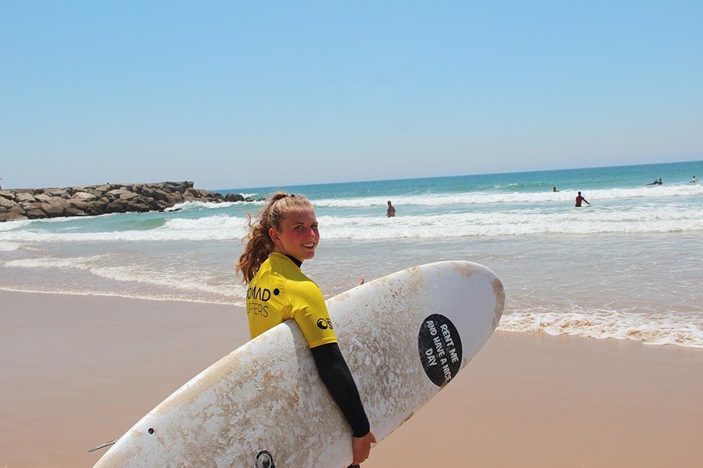 Surf School Teens Camp Lisbon ready to surf