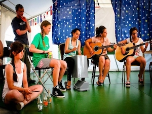 Ireland Kids Summer Surf Camp talent show