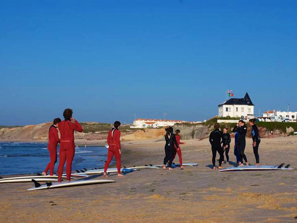 lagide surf castle surf lesson
