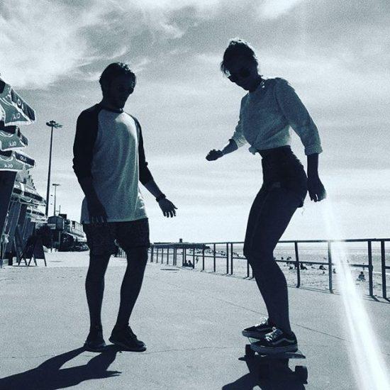 lisbon-surf-camp-cascais-skating-lesson-on-beach