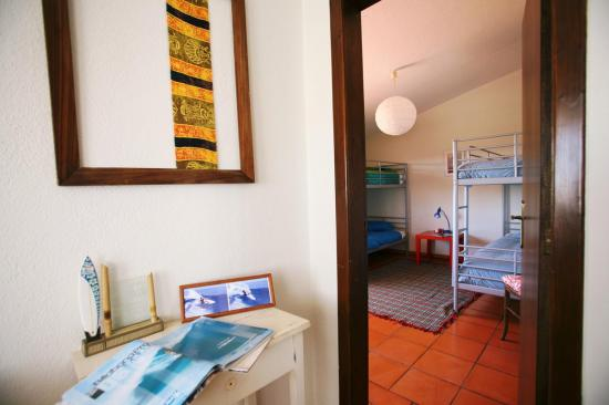 lisbon surf camp cascais-bathroom dorm
