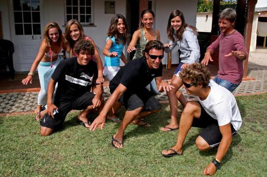 Lisbon Surf Camp Cascais - team