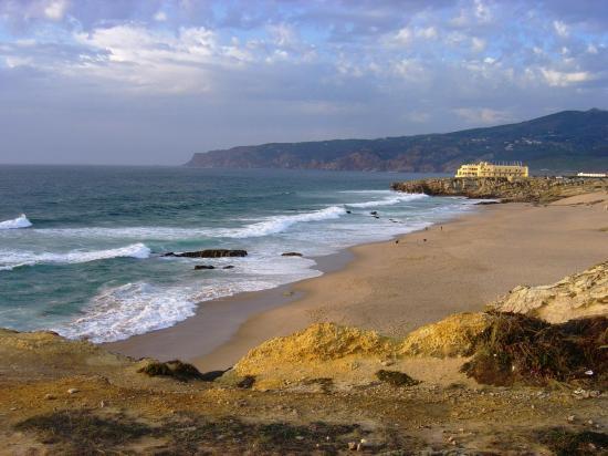 lisbon-surf-camp-cascais-beach coast sundowner