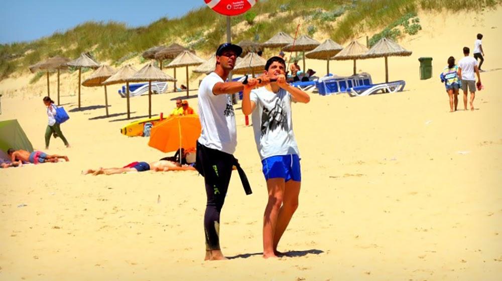 Surf School Teens Camp Lisbon Kite Surf Workshop