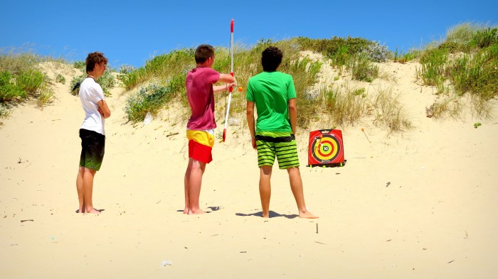Surf-School-Teens-Camp-Lisbon-archery