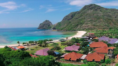 Surf resort in Sumbawa