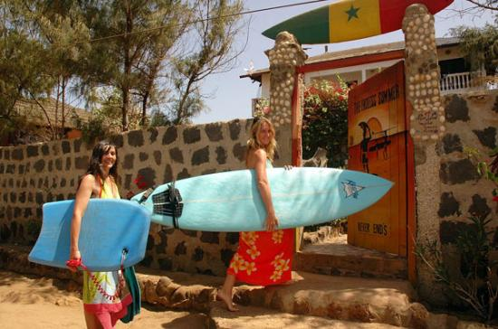 surf camp n'gor surf lifestyle