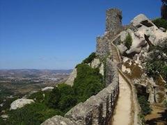 Lisbon surf camp cascais - sintra castle