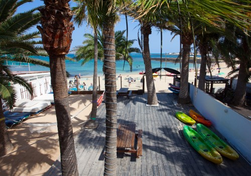 Surf Camp Corralejo frontyard