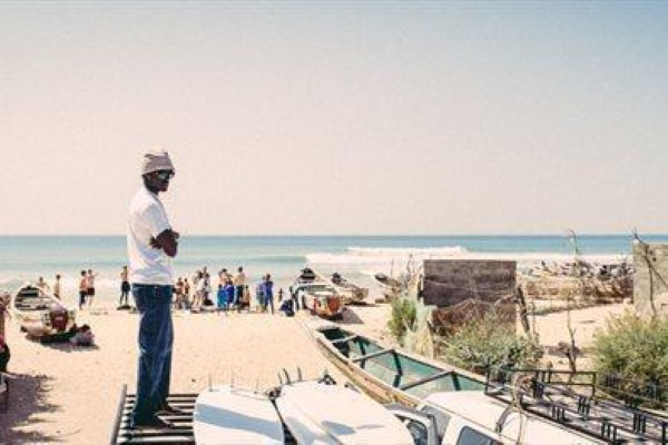 Senegal local surf spots