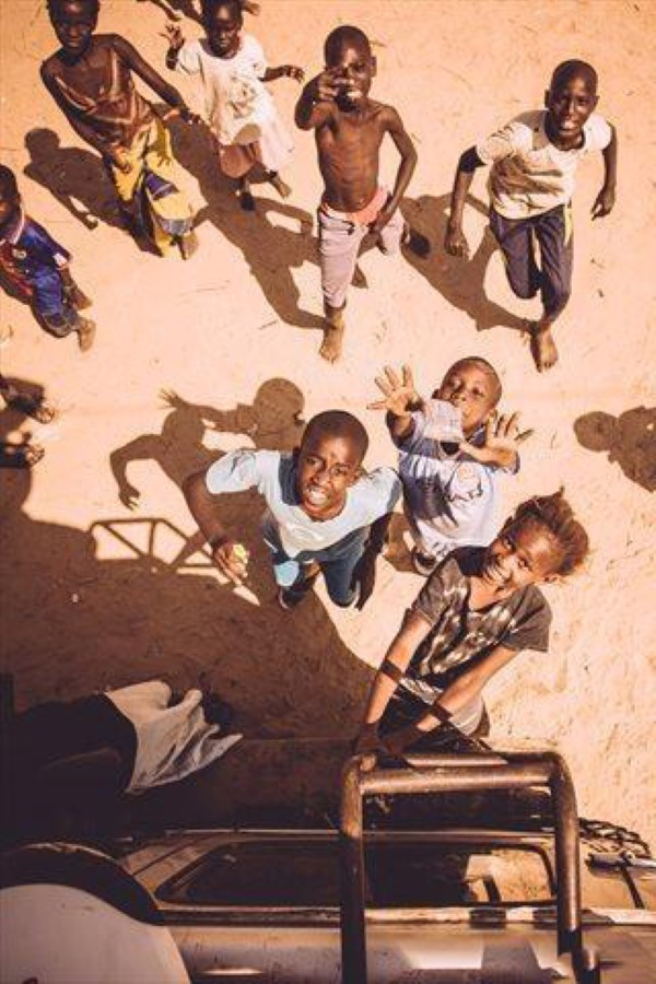 Senegal kids and surf