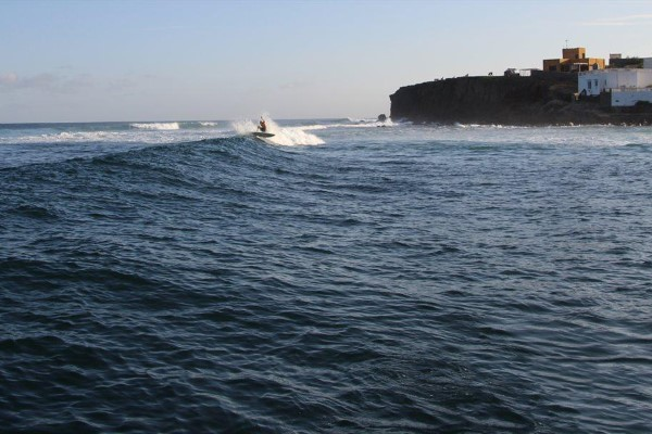 Surf spot at N'gor Senegal