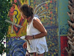 Lisbon Surf Camp Cascais - girl white shirt