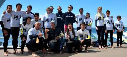 Lisbon Surf Camp Cascais - surf group picture