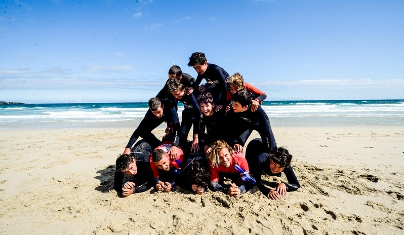 surf-students-pyramid-galicia-teens-surf-camp