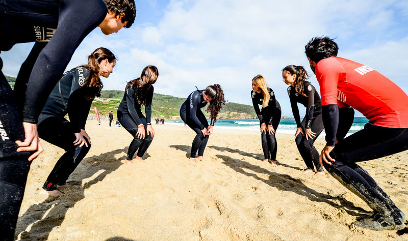 warming-up-for-surf-galicia-teens-surf-camp