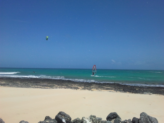 windsurfing fuerteventura white beach
