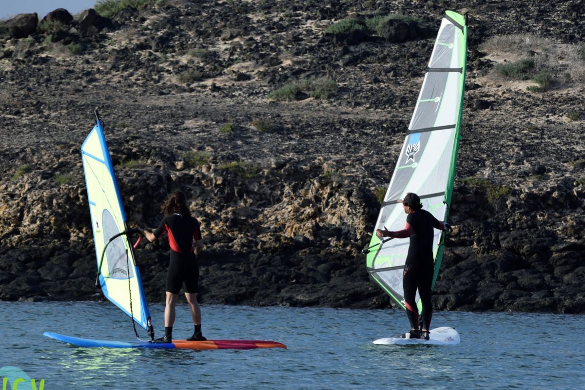 martin teaching windsurfing