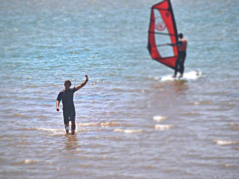 Martin Teaching Windsurf