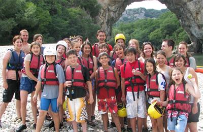 Teen adventure camp california