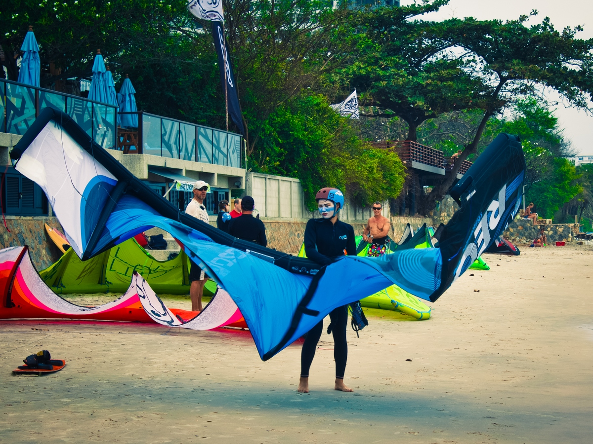Kiteboarding Asia