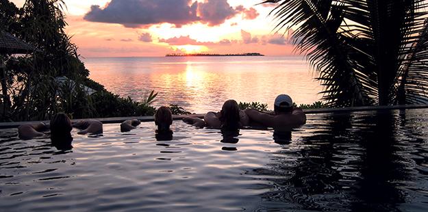 Wakatobi Dive Resort sunset