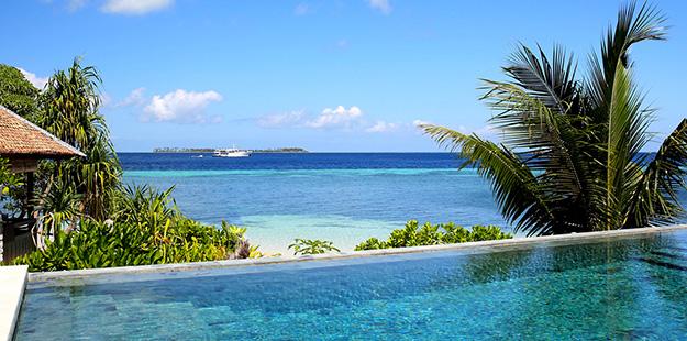 Wakatobi Dive Resort island