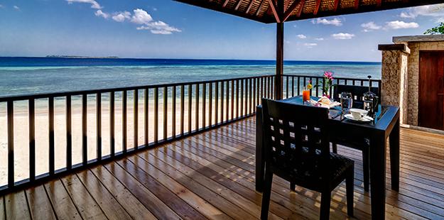 Wakatobi Dive Resort sea terrace