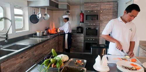 wakatobi dive charter chef