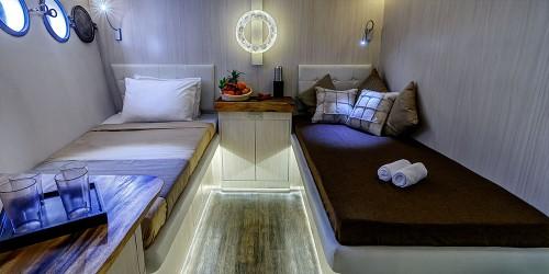 wakatobi dive charter cabins