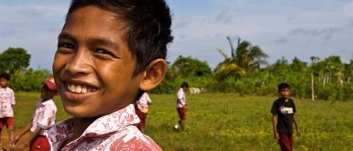 Wakatobi Dive Resort local kid