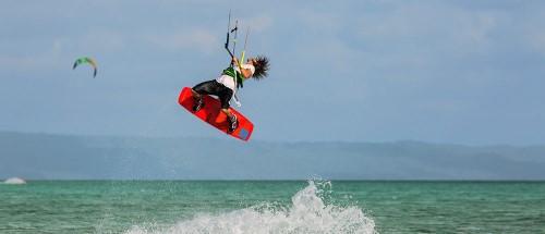Wakatobi Dive Resort kitesurfing