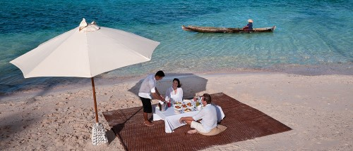 Wakatobi Dive Resort lunch
