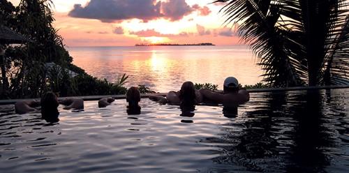 Wakatobi Dive Resort pool