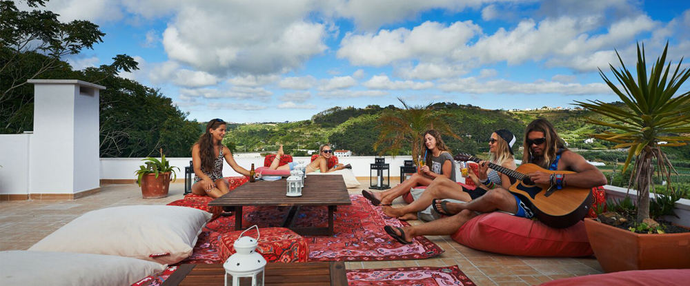 Foz do Lizandro Surf Camp's wonderful view