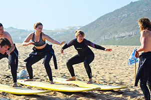 Surf Lessons at Foz do Lizandro
